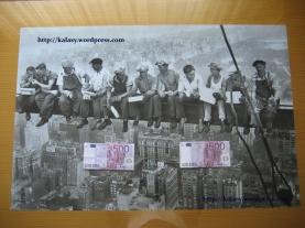 El póster de los 1000 Euros.